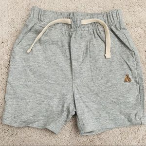 NWT Gap Baby Boy Grey Pull-On Shorts